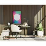 Poster-Decoration-Art-Mural_Contemporain_Minimaliste_Formes_cadre