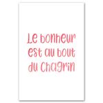 Poster-Decoration-Art-Mural_Message_Bonheur_40x60