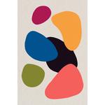 Poster-Decoration-Art-Mural_Contemporain_Minimaliste_formes-couleurs_40x60cm
