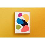 Poster-Decoration-Art-Mural_Contemporain_Minimaliste_formes-couleurs_cadre