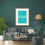 Poster-Decoration-Art-Mural_Message_Optimisme_cadre