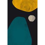 Poster-Decoration-Art-Mural_Contemporain_Minimaliste_2formes1point_40x60cm