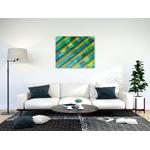 tableau_Peinture-acrylique-sur-toile-fait-main_Isi-Groove_artiste_65x81cm_situ2