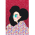 Poster-Decoration-Art-Mural_Dessin_Illustration_Portrait_Motifs_Femme-Mademoiselle2_40x60cm