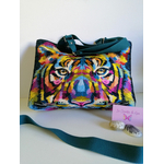 sac cabas à main tigre