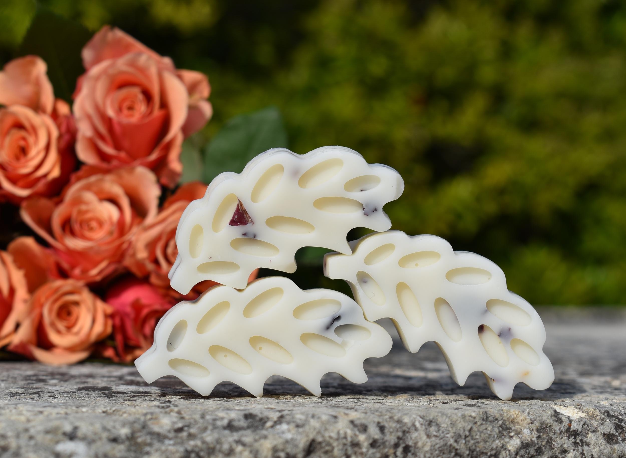 fondant épi parfumé bouquet de roses