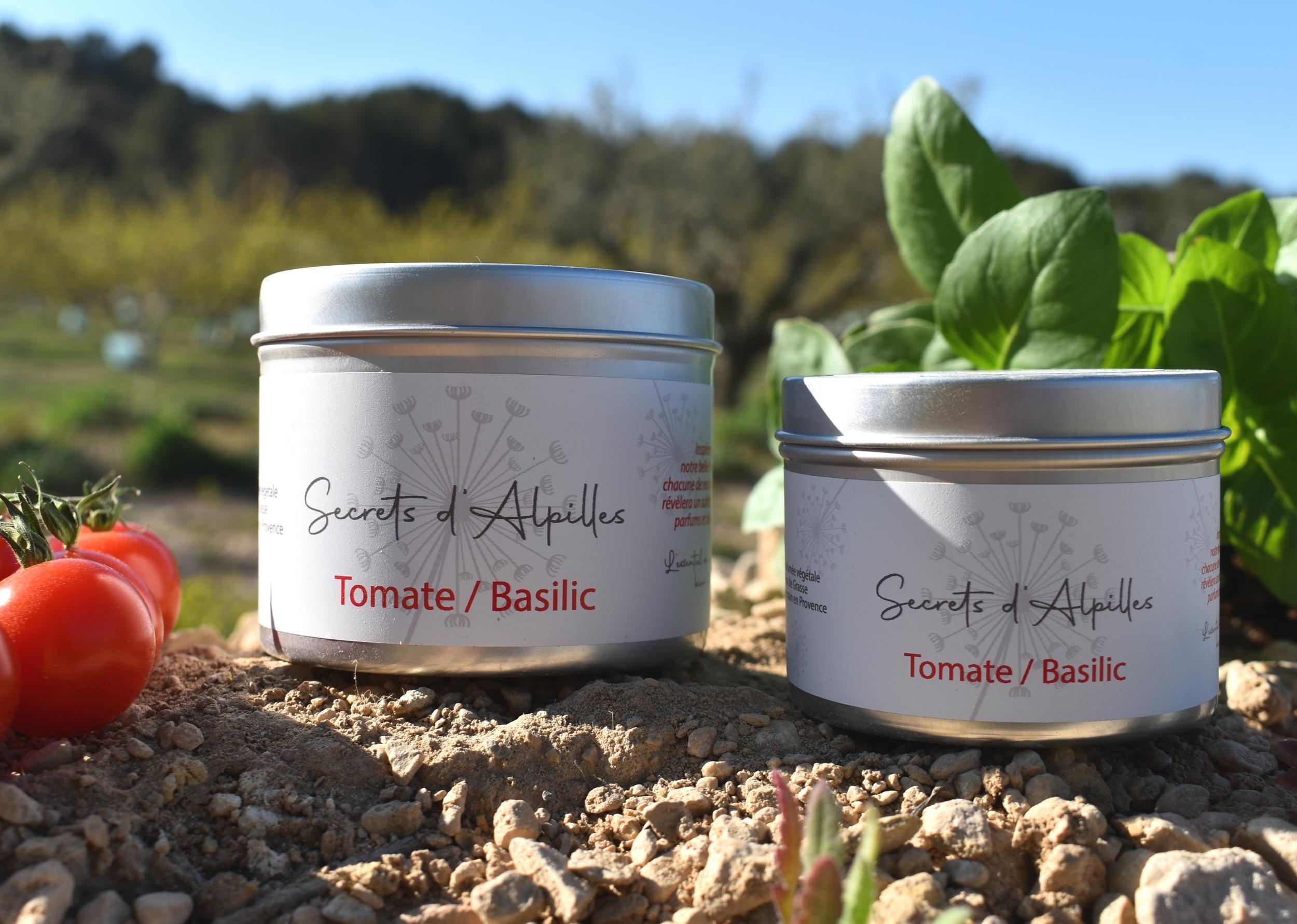 Bougie Tomate Basilic