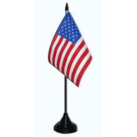 Drapeau de table USA Port Gratuit