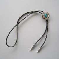 original-silver-plated-celtic-oval-enamel-wedding-bolo-tie-leather-necklace-6