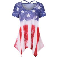 Tee shirt Long USA