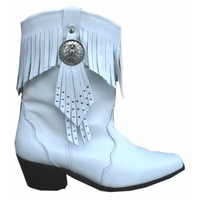 Bottines Idaho blanche