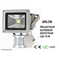 Eclairage exterieur led homeled light for Projecteur led avec detecteur de presence