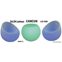 SALON LUMINEUX LED RGB CANCUN sans fil + télécommande homeled-light