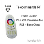 Télécommande RF Spot Led CAPRI 13W RGB homeled-light