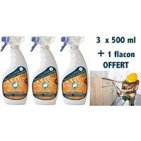 Solution anti termites Pack 3 x 500 ml + 1 offert