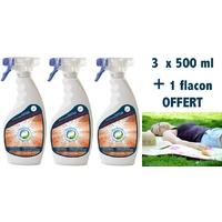 Répulsif anti fourmis insecticide - pack 3 x 500 ml + 1 Offert