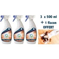 Anti araignées - Pack 3 x 500 ml + 1 offert
