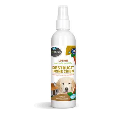 Désodorisant urine du chien contre les odeurs dans l'habitation