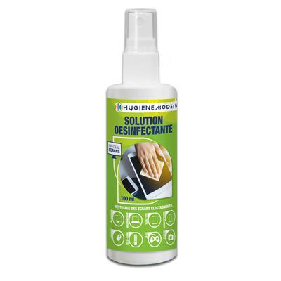 Spray nettoyant désinfectant Smartphones et écrans tactiles 100 ml