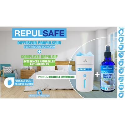 REPULSAFE Diffuseur du complexe répulsif d'essences anti nuisibles