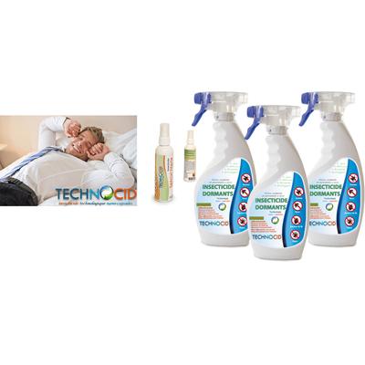 Pack Anti parasites literie - PACK 3 x 500 ml + 100 ml voyage OFFERT