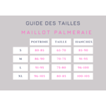 Palmeraie-maillot-de-bain-deux-pieces-imprimé-marine-fleurs-et-feuilles-tailles
