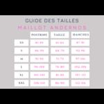 ANDERNOS-maillot-de-bain-2-pièces-rayé-réversible-tailles