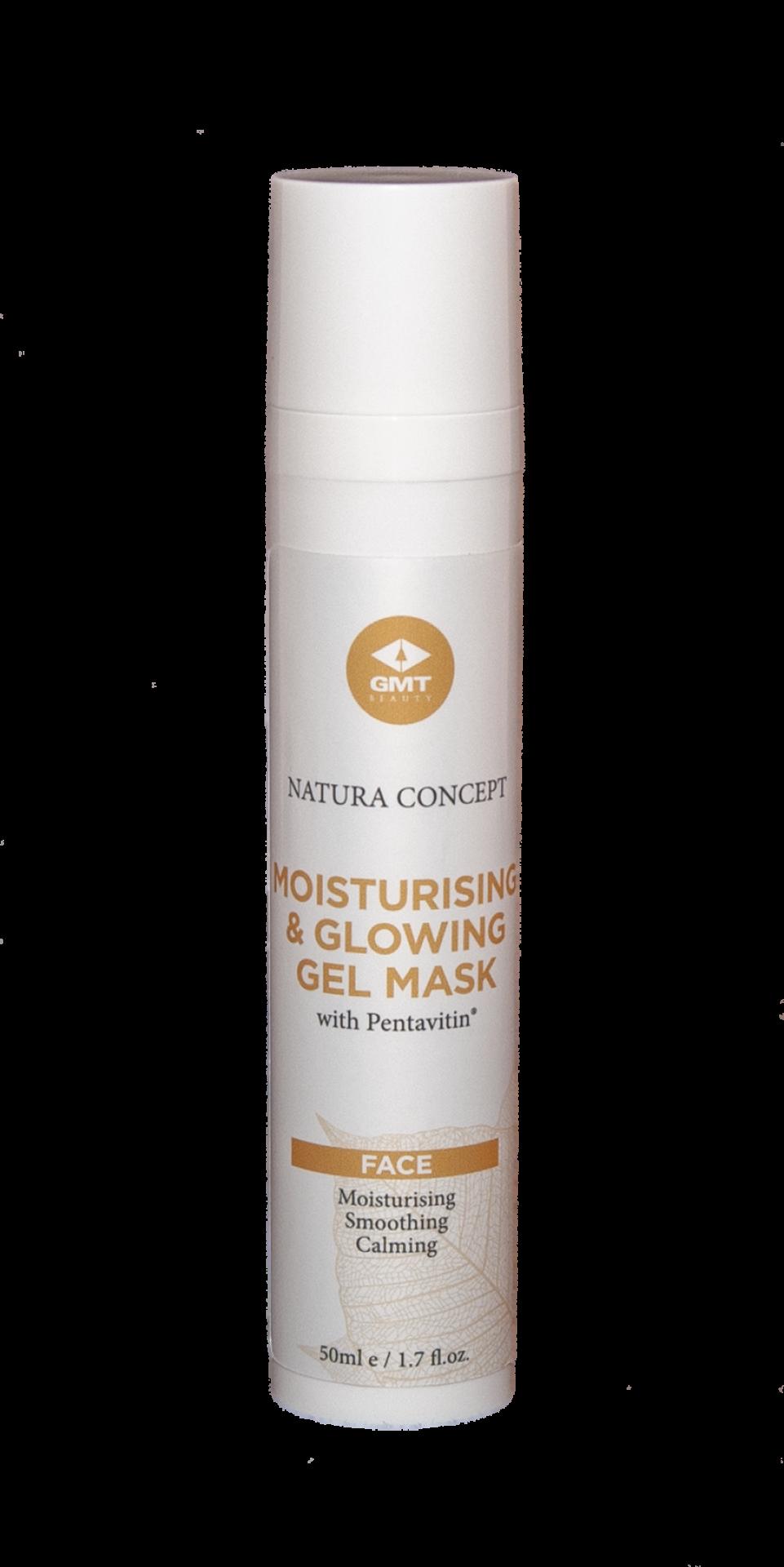 Masque gel hydratant et brillant