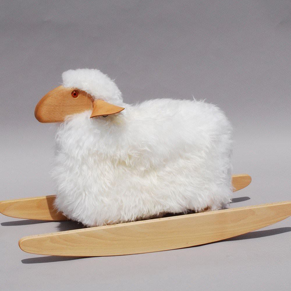 petit mouton bascule hanns peter krafft enfants a. Black Bedroom Furniture Sets. Home Design Ideas