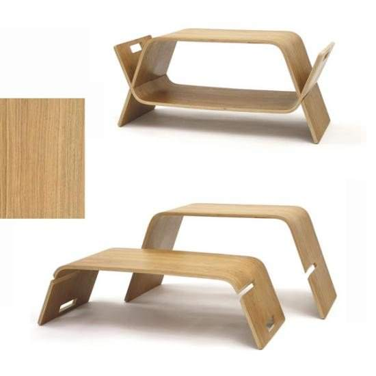 Table basse transformable oak embrace - Table transformable but ...