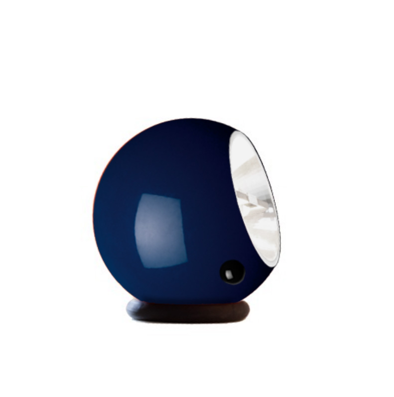 Light Bakelite Bleu Et Led Eye Lampe Design Yf6g7by