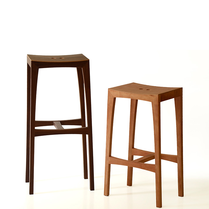 tabouret de bar otto sixay h 80 cm mobilier tabourets design design from paris. Black Bedroom Furniture Sets. Home Design Ideas