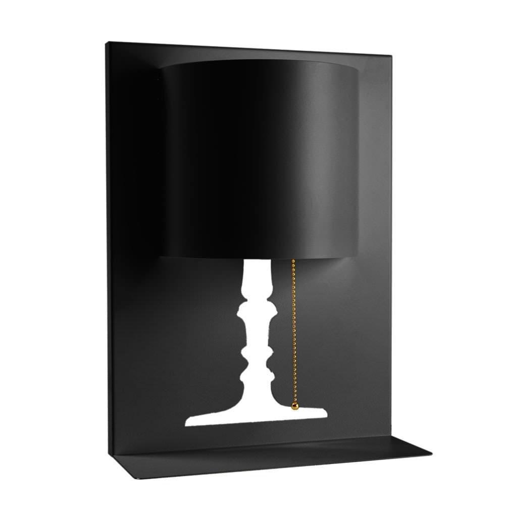 lampe kate s noir luminaire appliques design from paris. Black Bedroom Furniture Sets. Home Design Ideas