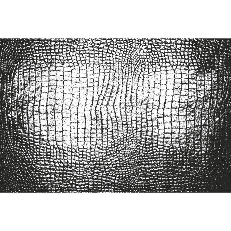 tapis vinyle peau de croco noir tapis design design from paris. Black Bedroom Furniture Sets. Home Design Ideas