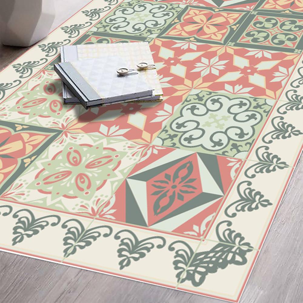 Tapis Imitation Carreaux De Ciment Vinyle tapis vinyle valentine