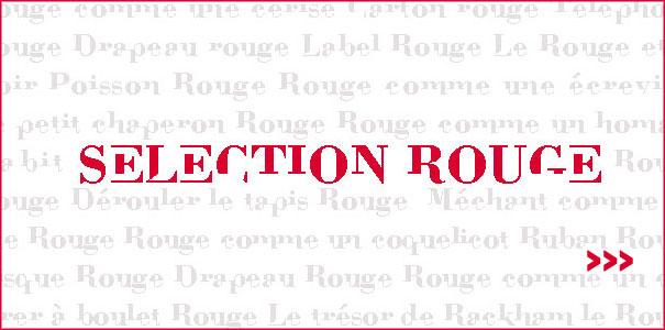 Selection de produits design de couleur rouge sur DesignFromParis