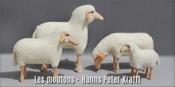 Mouton deco design par Hanns Peter Krafft