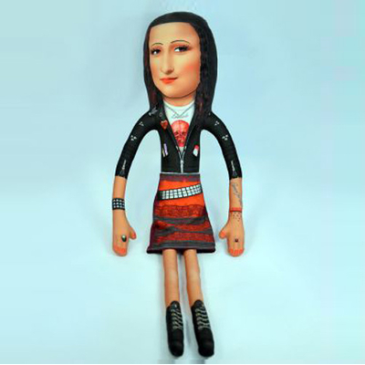 poupee-art-toy-mona-lisa-rock-idee-cadeau-deco-original-x