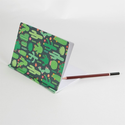 cahier fantaisie papeterie carnet cactus