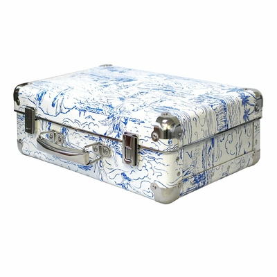 valise petite catch a wave bleu maison leconte