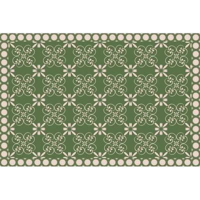 tapis lola vert
