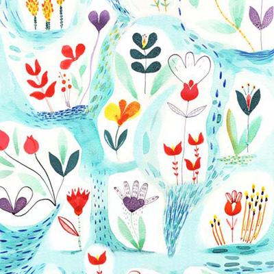 Le-de-papier-peint-jardin
