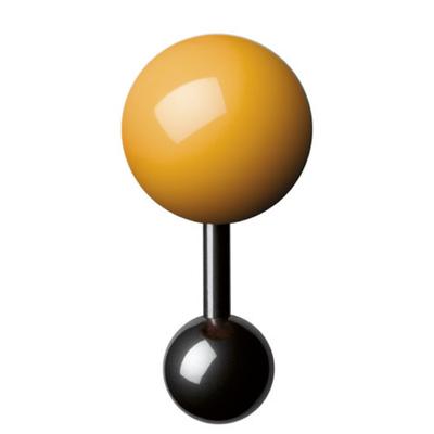 Boutons-de-manchette-jaune-homme-15mm