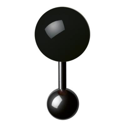 Boutons-de-manchette-noir-homme-15mm