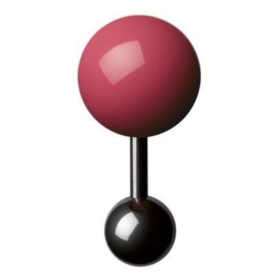Boutons-de-manchette-rose-homme-15mm
