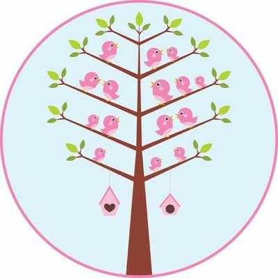 tapis-vinyle-rond-l-arbre-oiseaux-enfant