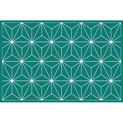 tapis-vinyle-saphir-vert