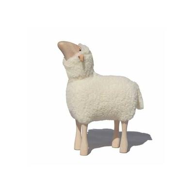 tabouret-mouton-petit-agneau-blanc-qui-regarde-vers-le-haut-Hanns-Peter-Krafft