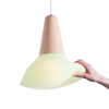 Lampe Suspension Eikon Bubble Silicone - Vert menthe