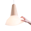 Lampe Suspension Eikon Bubble Silicone - Blanc